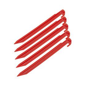CAMPZ - Sardines en plastique 30 cm - rouge